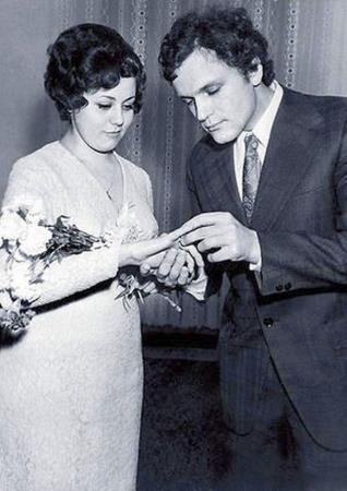 Николай Еременко-младший с женой Верой Титовой