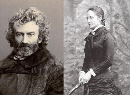 Николай Миклухо-Маклай с супркгой Маргарет