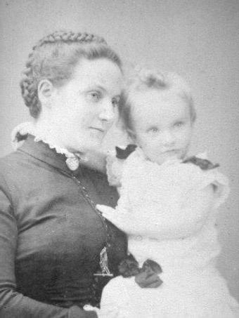 Маргарет с сыном Александром