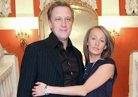 Сергей Горобченко с женой Полиной Невзоровой
