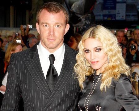Мадонна с режиссером Гаем Ричи