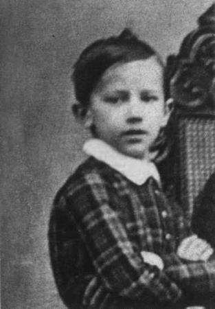 Петр в детстве