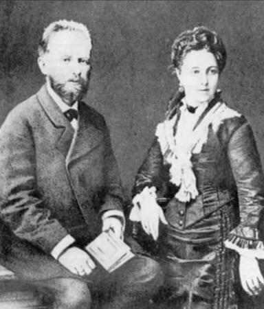 Петр Ильич Чайковский и Антонина Милюкова