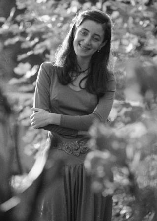 Тамара Гвердцители в юности
