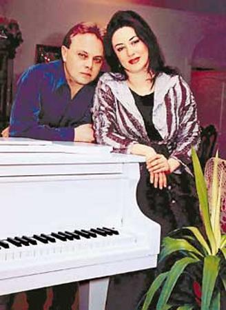 Тамара Гвердцители и Амбатьело Сергей