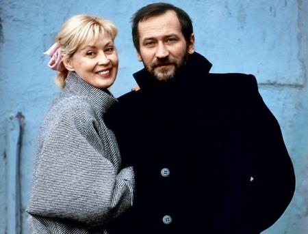 Нина Шацкая со вторым мужем Леонидом Филатовым