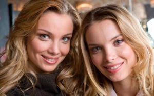 Сестры Арнтгольц Татьяна и Ольга