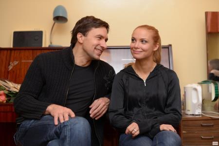 Татьяна Арнтгольц с Игорем Антипенко