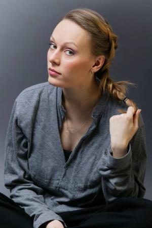 Ольга Ломоносова в молодости