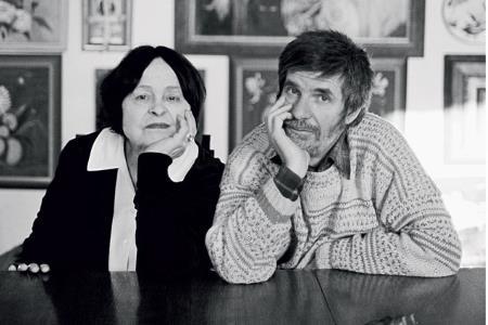 Кира Муратова и Евгений Голубенко