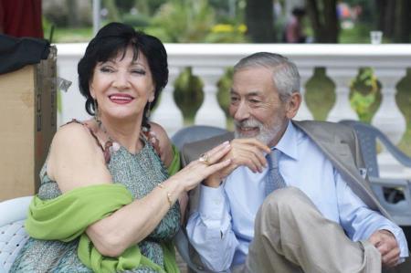 Нани Брегвадзе и Вахтанг Кикабидзе
