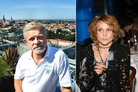 Людмила Артемьева с бывшим мужем Сергеем Парфеновым
