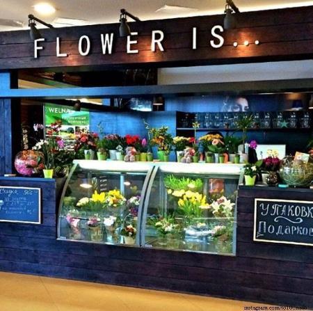 Новый цветочный магазин Анатолия Руденко