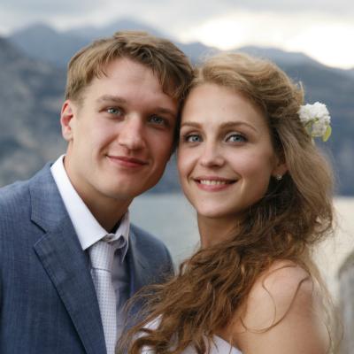Анатолий Руденко с женой Еленой Дудиной