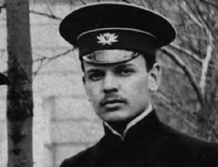 Константин Паустовский в молодости