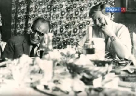 Константин Паустовский с супругой Татьяной Арбузовой