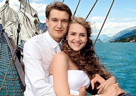 Елена Дудина с мужем Анатолием Руденко