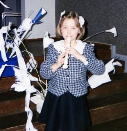Аглая в детстве, 8 лет.