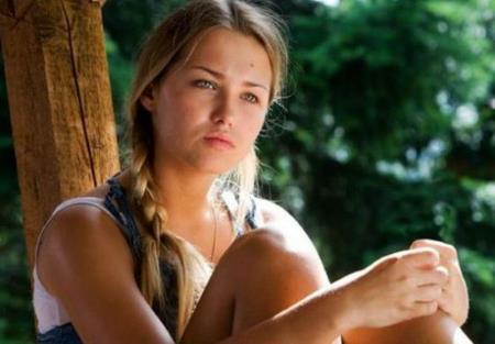 Аглая Шиловская в юности