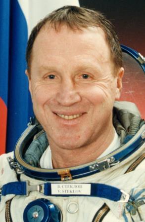 Владимир Стеклов должен был быть в роли настоящего космонавта