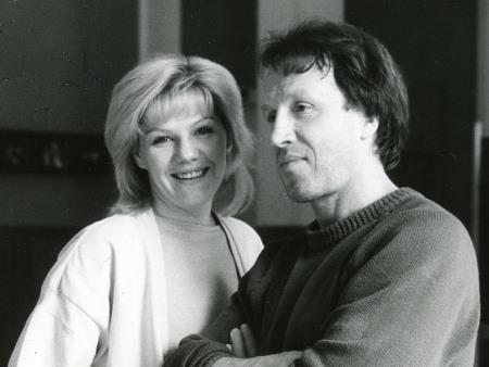 Владимир Стеклов и Александра Захарова
