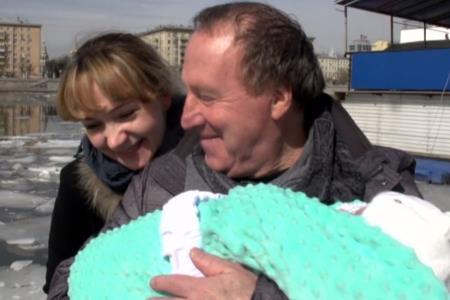 Владимир Стеклов с женой Ириной Делягиной