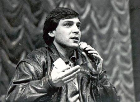 Александр Невзоров в молодости