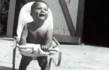 Юный Дастин, детские годы