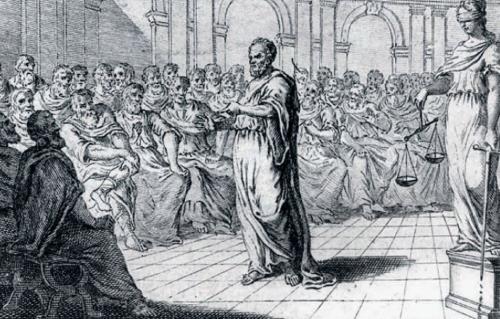 Сократ выступает в свою защиту