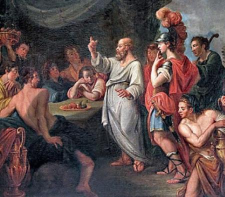 Сократ учит Перикла