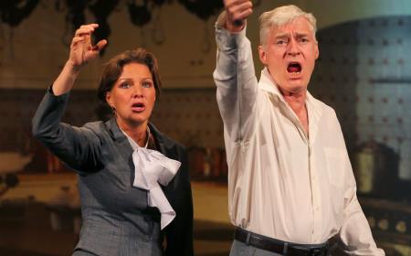 Щербаков на театральной сцене