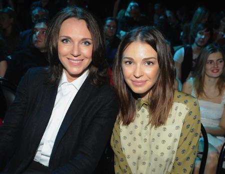 Агния Дитковските с мамой - актрисой Татьяной Лютаевой