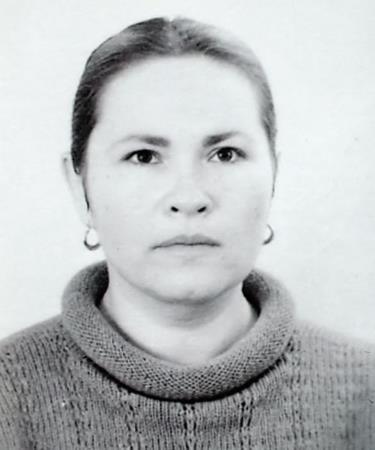 Нина Усатова в молодости