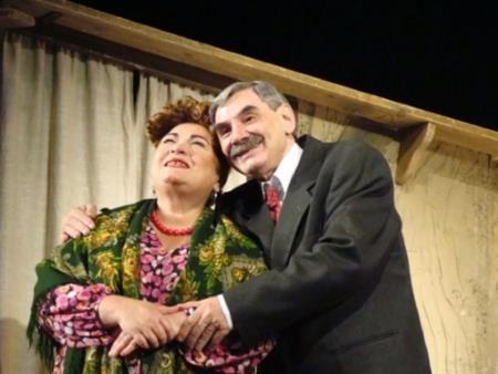 Нина Усатова на сцене театра