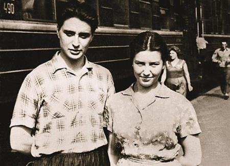 Вениамин Смехов с бывшей женой Аллой