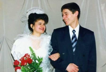 Ирина Круг в молодости с первым мужем