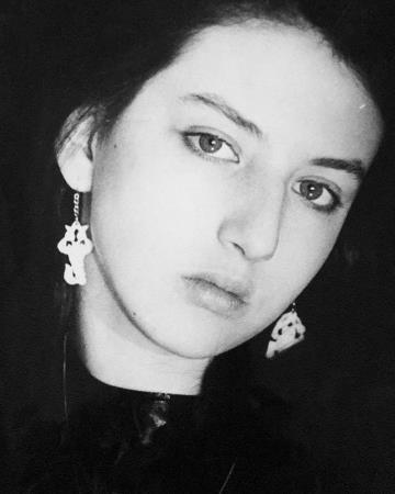 Алика Смехова в молодости