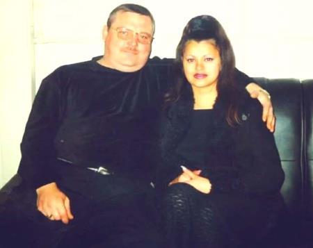 Михаил Круг с женой Ириной