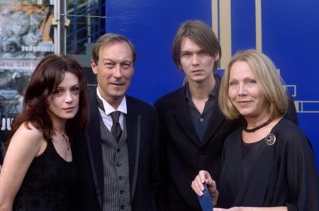 Филипп Янковский с семьей в молодости