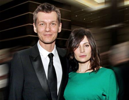 Филипп Янковский с женой Оксаной