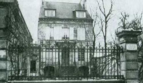 Дом в Виллер-Котре, где родился Дюма.