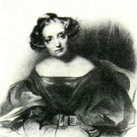 Актриса Мари Дорваль