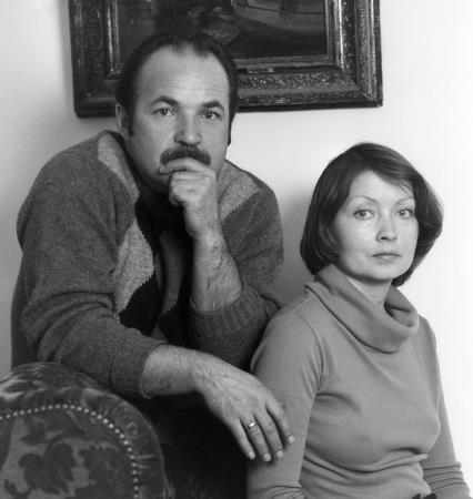 Николай Губенко с женой Жанной Болотовой