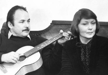Жанна Болотова с мужем Николаем Губенко