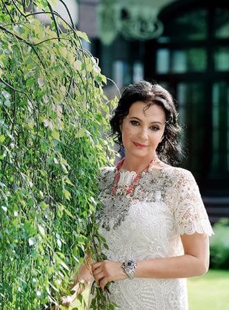 Ирина Винер в молодости