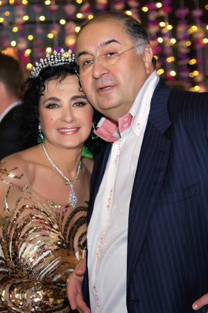 Ирина Винер с мужем Алишером Усмановым