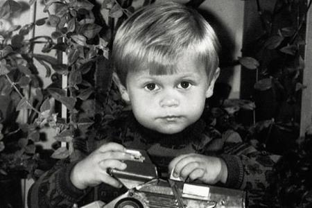 Паша в детстве