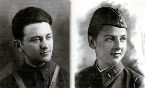 Родители Аллы Суриковой