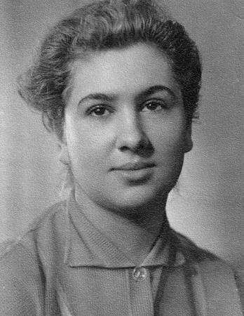 Инна Ульянова в молодости