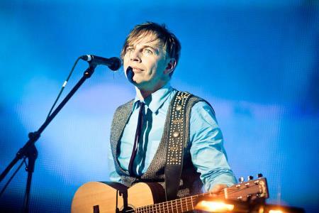 Илья Лагутенко на сцене
